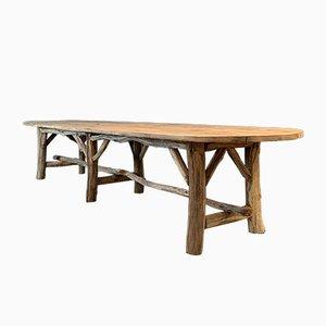 Tavolo da pranzo grande, anni '60