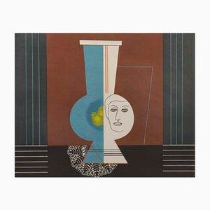 Lithografie von Esias Thorén, 1974