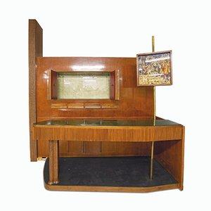 Mobile bar grande di Osvaldo Borsani, anni '50