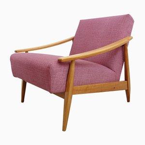 Pinker Sessel, 1960er