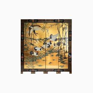 19th Century Gold Leaf Room Divider