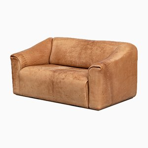 Italian Light Brown Leather Model DS 47 Sofa from de Sede, 1970s