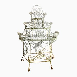 Antique Victorian 3-Tier Plant Stand