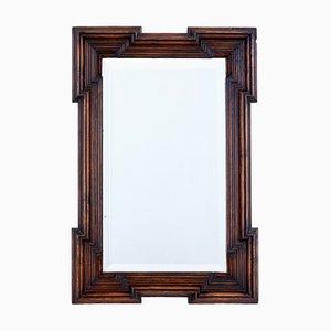 Miroir Style Gothique Antique en Chêne