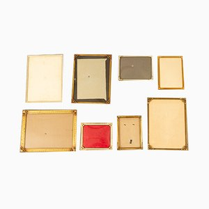 Antique Danish Picture Frames, Set of 8