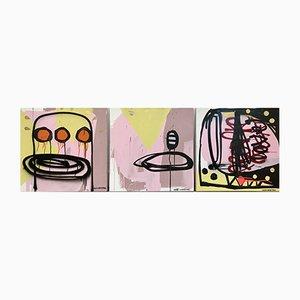 Dipinto Mix Media di Nicolas Shipton