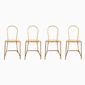 Model NET21 Dining Chairs by Paola Navone for Gervasoni, 1998, Set of 4