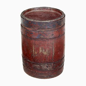 19th Century Scandinavian Oak Barrel