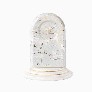 Horloge de Bureau Postmoderne en Céramique de Bosa Srl, 1990s