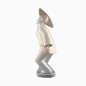 Porcelain Pierrot Figurine from Bing & Grondahl, 1990s