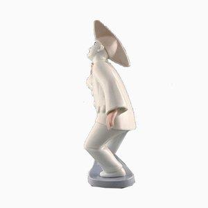 Porcelain Pierrot Figurine from Bing & Grondahl, 1990s