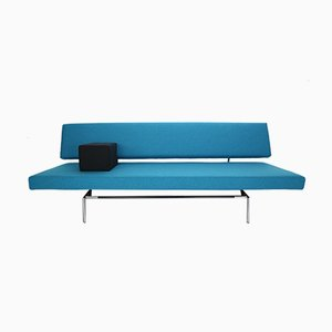 Sofá cama minimalista holandés BR02 de Martin Visser para t Spectrum, años 60