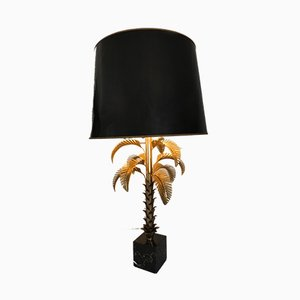 Golden Table Lamp from Maison Jansen, 1960s