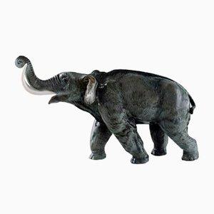 Große Mammut Porzellanfigur von Rosenthal, 1930er