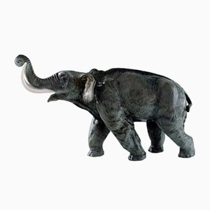 Large Porcelain Mammoth Figurine from Rosenthal, 1930s