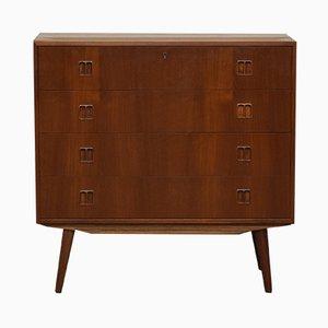 Vintage Danish Teak Dresser from Mobelfabrik Horsens Denmark, 1970s