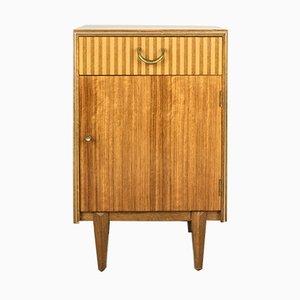 Nachttisch aus Nussholz von Wrighton, 1960er