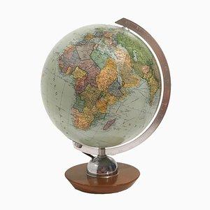 Globe Vintage en Verre Illuminé de JRO Verlag, Allemagne