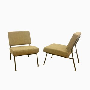 Lounge Chairs by Pierre Guariche for Airborne, 1950s, Set of 2