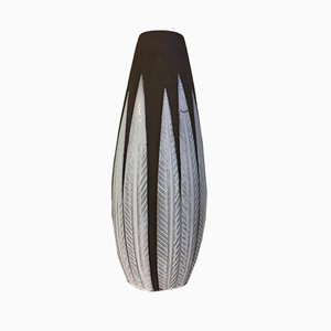 Large Mid-Century Swedish Floor Vase by Anna-Lisa Thomson for Upsala Ekeby