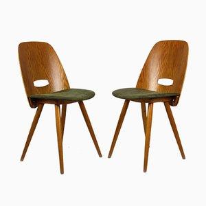 Chaises de Salle à Manger par František Jirák pour Tatra, 1960s, Set de 2