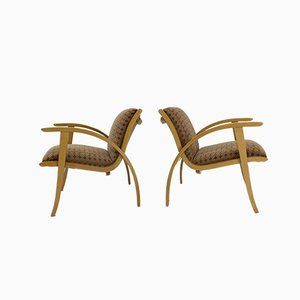 Mid-Century Armchairs, 1960s, Set of 2