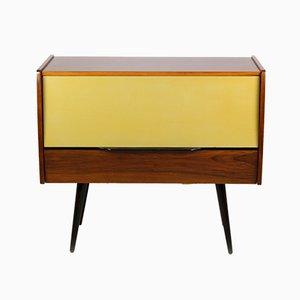 Mueble para tocadiscos vintage, años 60
