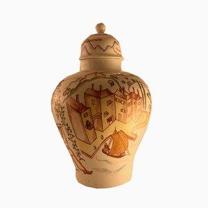 Vase en Porcelaine par Franz von Zülow pour Augarten Porzellan, 1920s