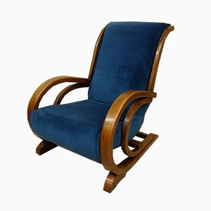 Art Deco Bentwood Armchair from Suparest, 1930s