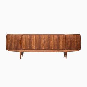 Großes dänisches Sideboard aus Teak von Johannes Andersen für Uldum Møbelfabrik, 1960er