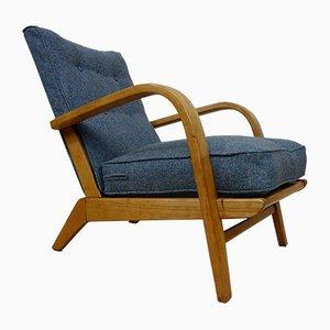 Art Deco Bentwood Armchair, 1930s