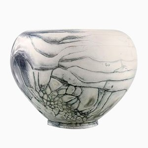 Glazed Stoneware Vase by Svend Hammershøi for Kähler, 1930s