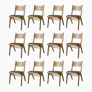 Dining Chairs, 1960s, Set of 12