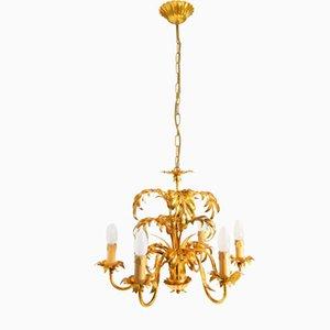 Lámpara de araña Hollywood Regency Mid-Century