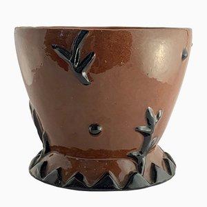 Cuenco pequeño de cerámica de Vally Wieselthier para Wiener Werkstätte, años 10
