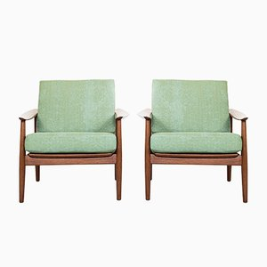 Teak Armchairs by Arne Vodder for France & Søn / France & Daverkosen, 1960s, Set of 2