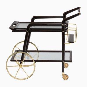 Chariot Mid-Century par Cesare Lacca, Italie