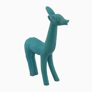 Bambi italiano Mid-Century de cerámica, años 50