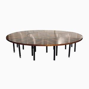 Runder Mid-Century Tisch