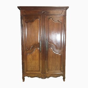 Antique Louis XV Oak Wardrobe