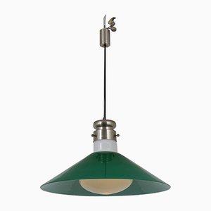 Deckenlampe aus Muranoglas von Alessandro Pianon für Vistosi, 1970er