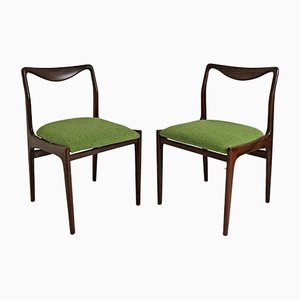 Scandinavian Rosewood Side Chairs, 1960s, Set of 2