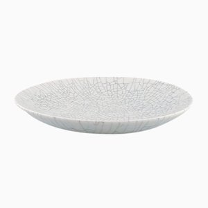 Crackled Dish, by Liisa Hallamaa Larsen for Arabia, 1960s