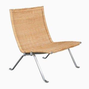 PK22 Lounge Chair by Poul Kjærholm for E. Kold Christensen, 1960s