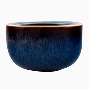 Glazed Stoneware Bowl by Carl-Harry Stålhane for Rörstrand, 1960s
