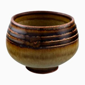 Glazed Stoneware Bowl from Rörstrand, 1960s