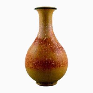 Glasierte Vase aus Steingut von Gunnar Nylund für Rörstrand, 1960er