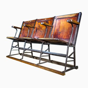 Vintage French Cinema Theatre Seats, 1920s