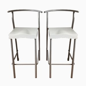 Bar Stools by Philippe Starck for Kartell, 1993, Set of 2