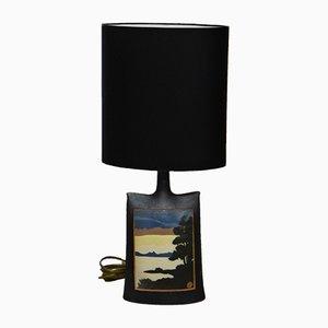 Lampe de Bureau Vintage en Céramique, 1970s